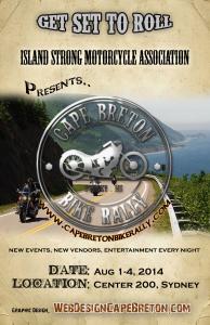 Cape Breton Bike Rally Poster